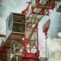 Construction Crane by Wim Lanclus