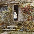 Corcorus Japonica by Helen Allingham