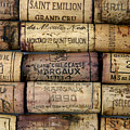 Corks Of French Wine by Bernard Jaubert