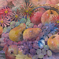 Cornucopia Of Fruit by Arline Wagner