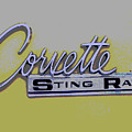 Corvette Emblem by Audrey Venute