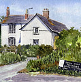 Cottages At Binsey. Nr Oxford by Mike Lester