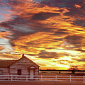 Country House Sunset Longmont Colorado Boulder County by James BO  Insogna