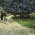 Couple In The Park by Vincent Van Gogh