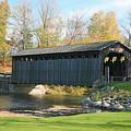 Covered Bridge by Robert Pearson