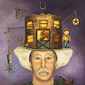 Cowboy Karl by Leah Saulnier The Painting Maniac