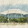 Cowboys Stadium by Ricky Barnard