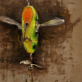 Creeper Muskie Lure by Larry Seiler