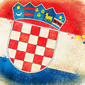 Croatia Flag by Setsiri Silapasuwanchai