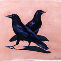 Crows by Sandi Baker