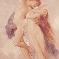 Cupid And Psyche by William Adolphe Bouguereau