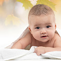 Cute Four Month Old Baby Boy by Oleksiy Maksymenko