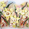 Daffodil Drama by Amanda  Sanford