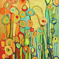Dance Of The Flower Pods by Jennifer Lommers