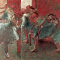 Dancers At Rehearsal by Edgar Degas
