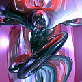 Dancing Hallucination Abstract by Alexander Butler