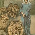 Daniel In The Lions Den by John Lawson