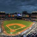 Dark Clouds Over Yankee Stadium  by Shawn Everhart