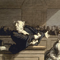 Daumier: Advocate, 1860 by Granger