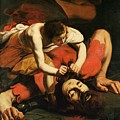 David With The Head Of Goliath by Michelangelo Caravaggio