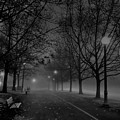 December Morning In Riverfront Park - Spokane Washington by Daniel Hagerman