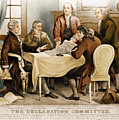 Declaration Committee 1776 by Photo Researchers