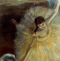 Degas: Arabesque, 1876-77 by Granger