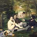 Dejeuner Sur L Herbe by Edouard Manet