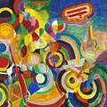 Delaunay: Hommage Bleriot by Granger