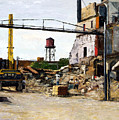 Demolition 4  by Nancy Albrecht