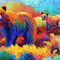 Denali Family by Marion Rose