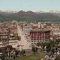 Denver, Colorado, Photochrom By William by Everett