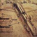 Design For A Giant Crossbow by Leonardo Da Vinci