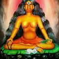Devi Kali Goddess by Sri Mala