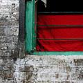 Dharamsala Window by Skip Hunt