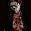 Dia De Los Muertos 3 by Pete Tapang