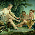 Diana After The Hunt by Francois Boucher