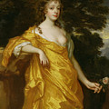 Diana Kirke-later Countess Of Oxford by Sir Peter Lely