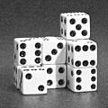 Dice Cubes IIi by Tom Mc Nemar