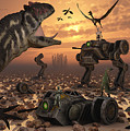 Dinosaurs And Robots Fight A War by Mark Stevenson