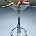 Dirty Martini by Sandra Bauser Digital Art
