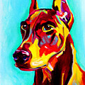 Doberman - Prince by Alicia VanNoy Call