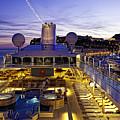 Docked In Monte Carlo by Janet Fikar