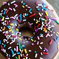 Donut With Sprinkles by Kim Fearheiley