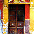 Door In The House Of Icons by Mexicolors Art Photography
