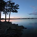 Dowdy Lake Silhouette by James Steele