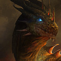 Dragon Portrait by Steve Goad