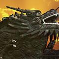 Dragon Wall - Yu Garden Shanghai by Christine Till