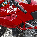 Ducati Red by Diane E Berry