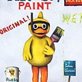Duck Boy Paint by Leah Saulnier The Painting Maniac
